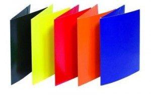 kolorowe teczki